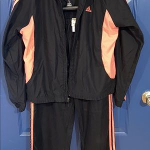 Ladies Adidas size L track suit